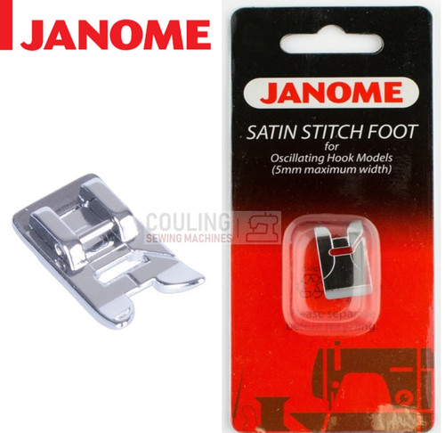 JANOME SATIN STITCH FOOT - 200129002 - CATEGORY A