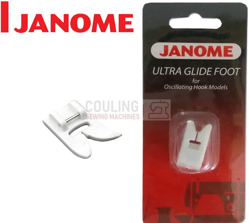 JANOME ULTRA GLIDE TEFLON FOOT - 200141000 - CATEGORY A