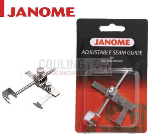 JANOME Adjustable Metal Seam Guide - 767411017