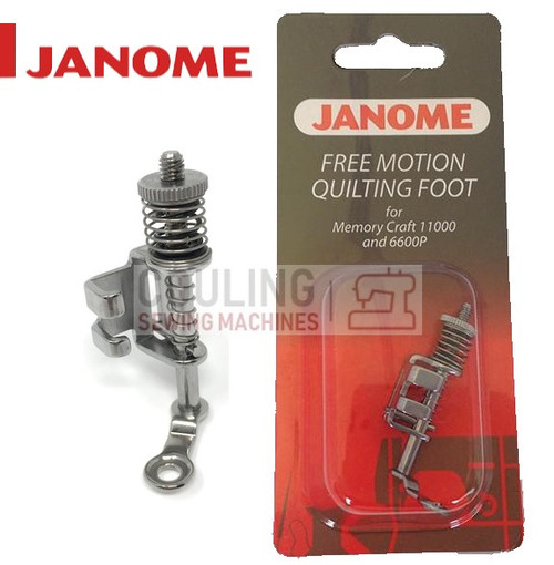 JANOME FREE MOTION QUILTING FOOT - 200442004 CATEGORY C & D