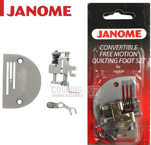 JANOME HD9 1600p Convertible Free Motion Quilting Foot Set- 767433004