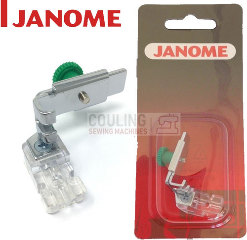 JANOME CONCEALED INVISIBLE ZIP ZIPPER FOOT - 941800000 - CATEGORY A