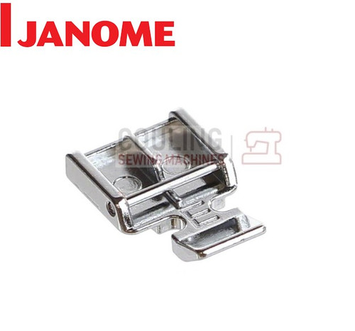 JANOME ZIP DOUBLE ZIPPER FOOT E - 829801002 CATEGORY B & C