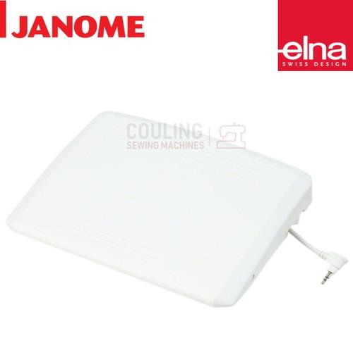 Elna Large Foot Control White Plastic - EX760, EX860 - 043170108
