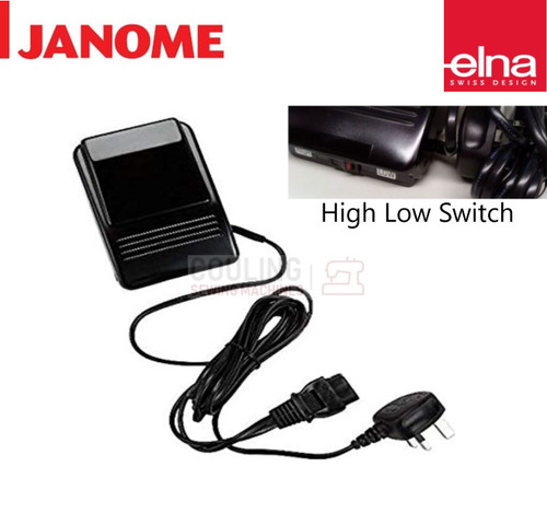 Janome Foot Control 2 Speed Switch 3 pin C-2023 - 525, 7021, 2041, 4618