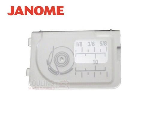 Janome Slide Plate / Bobbin Cover - 502017104 Fits:  MC11000, MC11000SE, MC350E, MC6600P, MC6500P, 6260QC, 6019QC, 6125QC, 4052, 4035, 8050XL, MC7700QCP, XL601, DXL603, QXL605 TXL607, MC12000, 8200QC, 8900QCP, Horizon