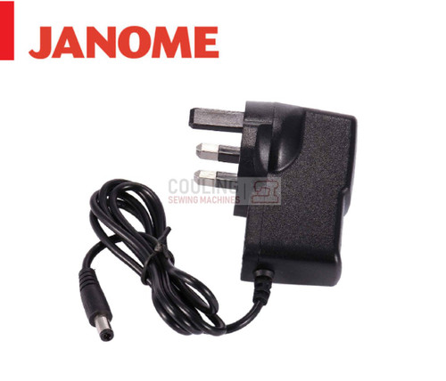 Janome Sew Mini Mains Power Adaptor Cable Lead - John Lewis Sew Mini DMX100 145M 140