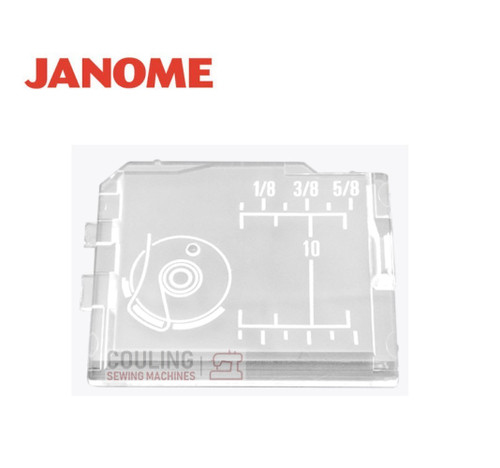 Janome Slide Plate / Bobbin Cover - 830302002  Fits:  Memory Craft 8000 ONLY