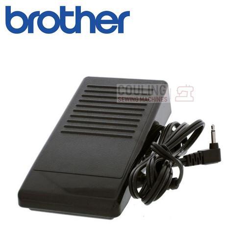 Brother Foot Control Pedal - Black J2, P ,N5V - XD0496221