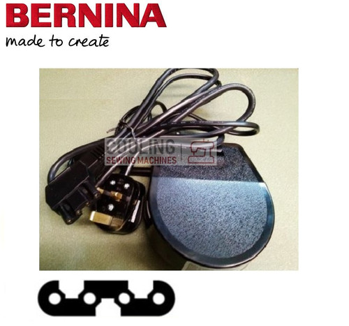 Bernina Foot Control Pedal & Lead OLD TYPE 817 807 808 800 707