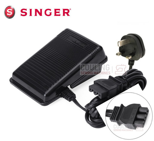 Singer Foot Control Pedal - 3 Line Pins Some Overlockers