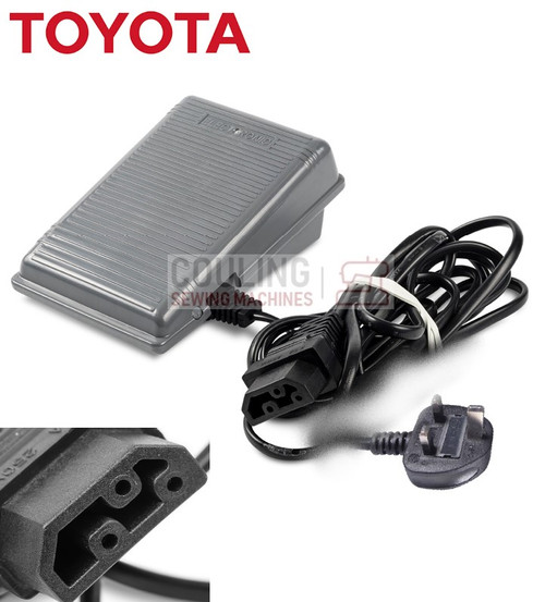 Toyota Sewing + Overlock Foot Control Pedal & Lead - SP ECO SUPER JEANS