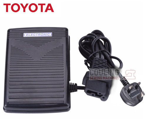 Toyota Sewing Machine Foot Control Pedal & Lead - Some RS2000