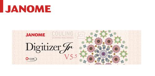Janome Digitizer Junior New Software Version Jr 5.5