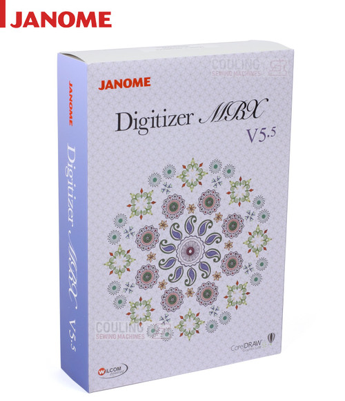 Janome Digitizer FULL New Software Version MBX 5.5