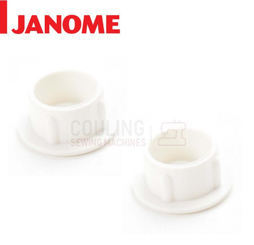 Janome Sewing Machines - Plastic Screw Cap Lip Cover x 2 - 653006101