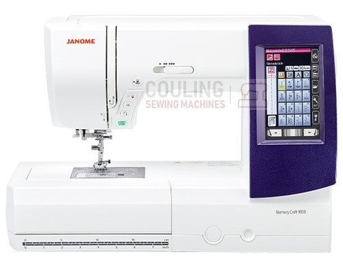 Janome Memory Craft 9850 - MC9850 Sewing & Embroidery Machine