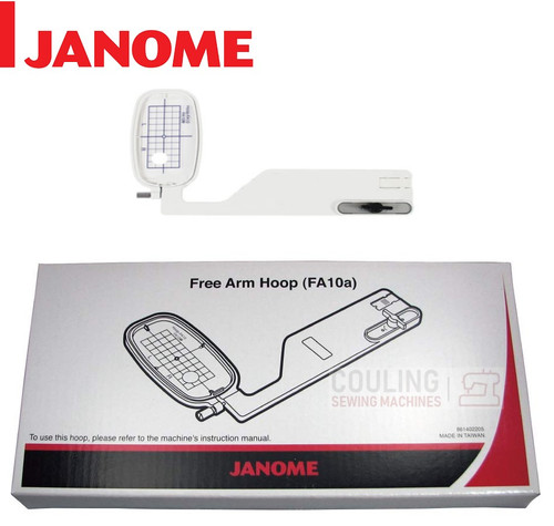 Janome Embroidery Hoop Free-Arm FA10A - 100x40mm MC9900 MC8950 861402205