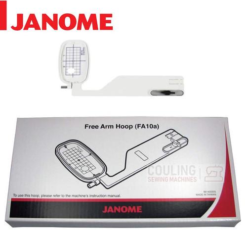 Janome Embroidery Hoop Free-Arm FA10A - 100x40mm MC9900 MC8950 861402205