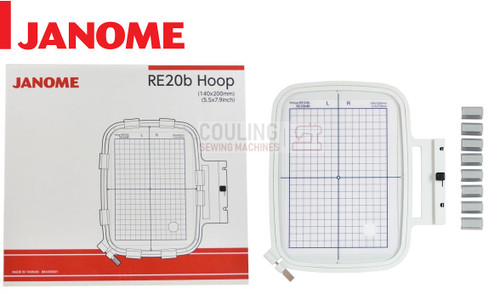 Janome Embroidery Hoop RE20B 140x200mm MC500 MC400 Only 864405001
