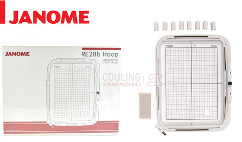 Janome Embroidery Large Hoop RE28B 200x280mm MC500 MC400 + Elna eXpressive 830 864403009