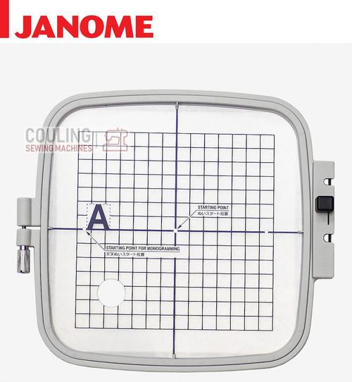 Janome Embroidery Standard Large Hoop B 140x140mm MC200E MC230E + Elna EMB81 8100 856801006