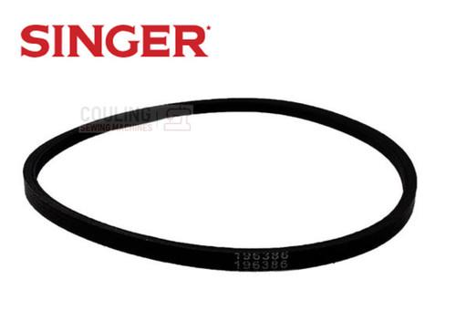 Singer Motor Belt - Black V Belt 337 338 347 348 413 - 196386