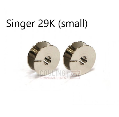 Singer 29K Patcher Bobbins - Small 16mm - Pack of 2