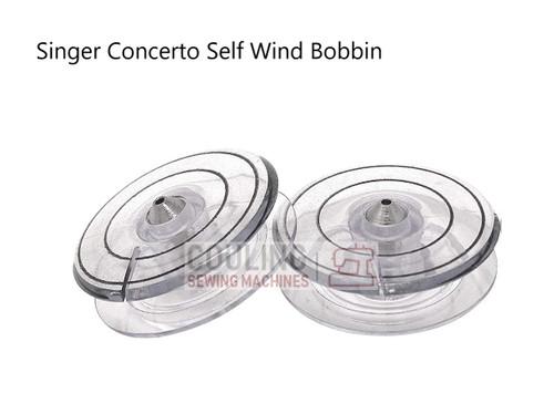 Singer Concerto Self Wind Bobbins - Pack of 2