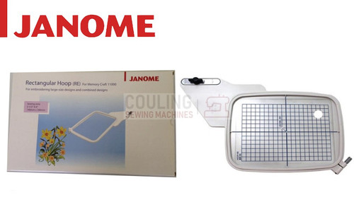 Janome Embroidery Hoop Rectangular RE - 140x200mm MC11000 MC11000SE 860421001