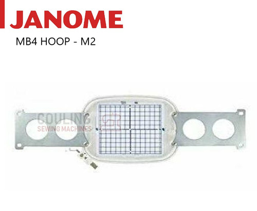 Janome Embroidery Standard Hoop M2 126x110mm MB4 MB-4 770808004