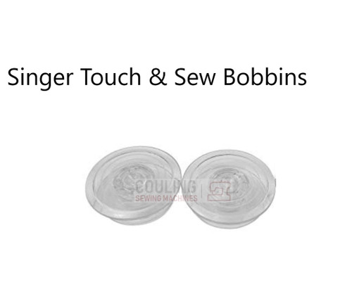 Singer Touch n Sew Bobbins - Pack of 2
