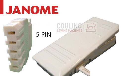 Janome Foot Control Special - 5 Flat Pin - 3123,5124,4623LE,XL23