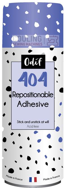 Odif 404 Craft Spray - Repositionable Adhesive Glue 250ml 43129