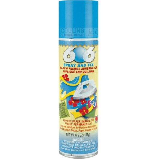 Odif 606 250ml NO SEW Iron On Spray n Fix Heat Fusible Adhesive Glue 43567