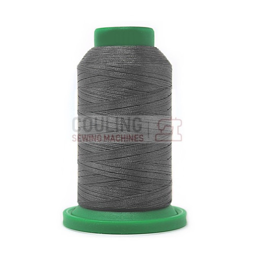 isacord Polyester Embroidery Machine Thread 1000m - Whale Grey 0111