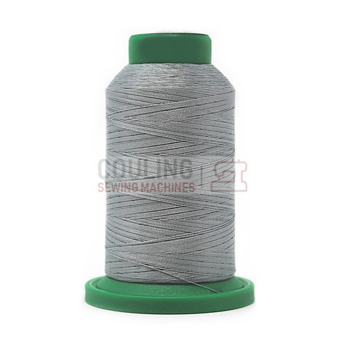 Isacord Polyester Embroidery Machine Thread 1000m - Sterling Grey 0142
