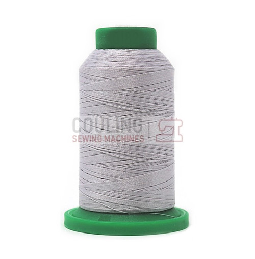ISACORD MACHINE EMBROIDERY THREAD 1000M STERLING GREY  0142