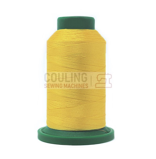 Isacord Polyester Embroidery Machine Thread 1000m - Yellow 0310