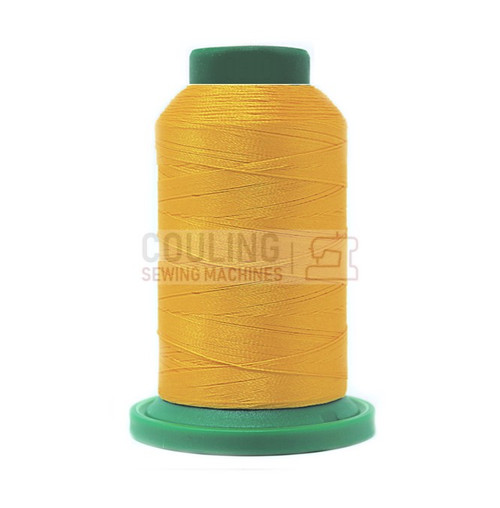 Isacord Polyester Embroidery Machine Thread 1000m - Canary Yellow 0311