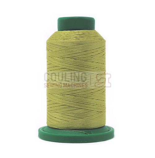 Isacord Polyester Embroidery Machine Thread 1000m - Marsh Green 0352
