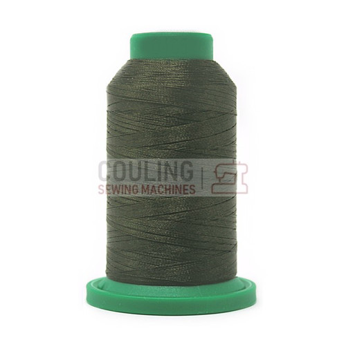 Isacord Polyester Embroidery Machine Thread 1000m - Umber Green 0465