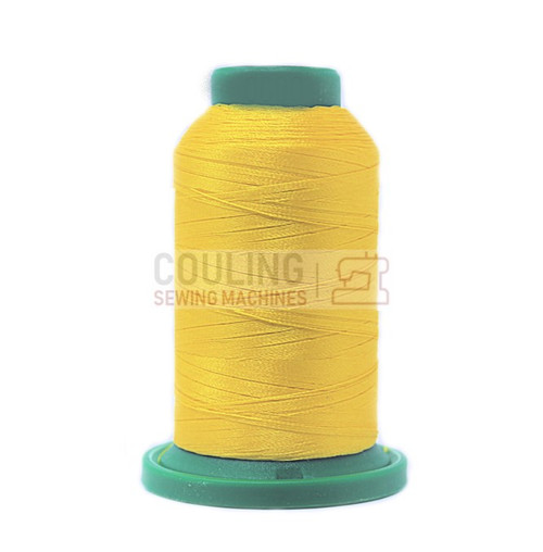 Isacord Polyester Embroidery Machine Thread 1000m - Citrus Yellow 0600