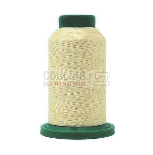 Isacord Polyester Embroidery Machine Thread 1000m - Vanilla 0660