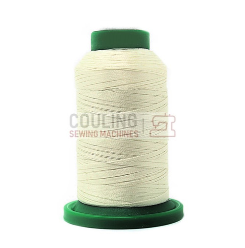 Isacord Polyester Embroidery Machine Thread 1000m - Cream 0670