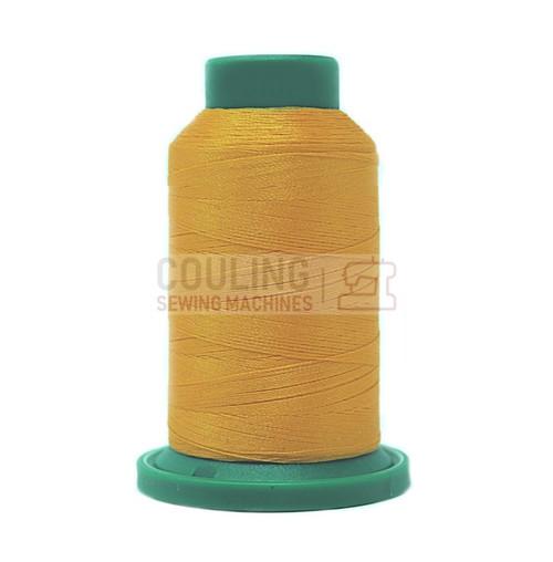 Isacord Polyester Embroidery Machine Thread 1000m - Yellow Papaya 0702