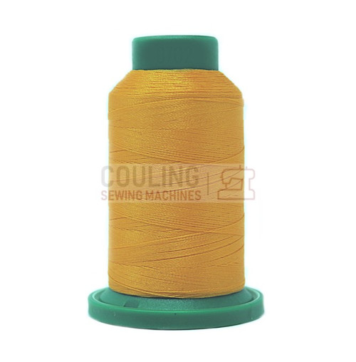 Isacord Polyester Embroidery Machine Thread 1000m - Yellow Papaya 0702