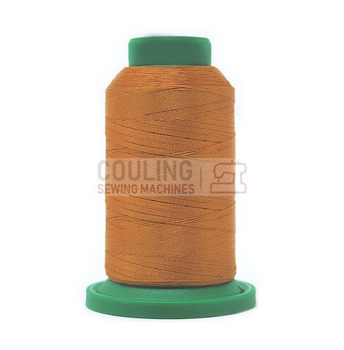 Isacord Polyester Embroidery Machine Thread 1000m - Ashley Gold 0922
