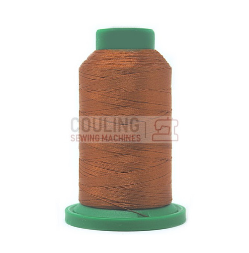 Isacord Polyester Embroidery Machine Thread 1000m - Nutmeg Brown 0932