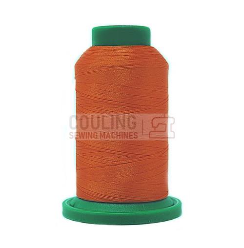 Isacord Polyester Embroidery Machine Thread 1000m - Pumpkin Orange 1102